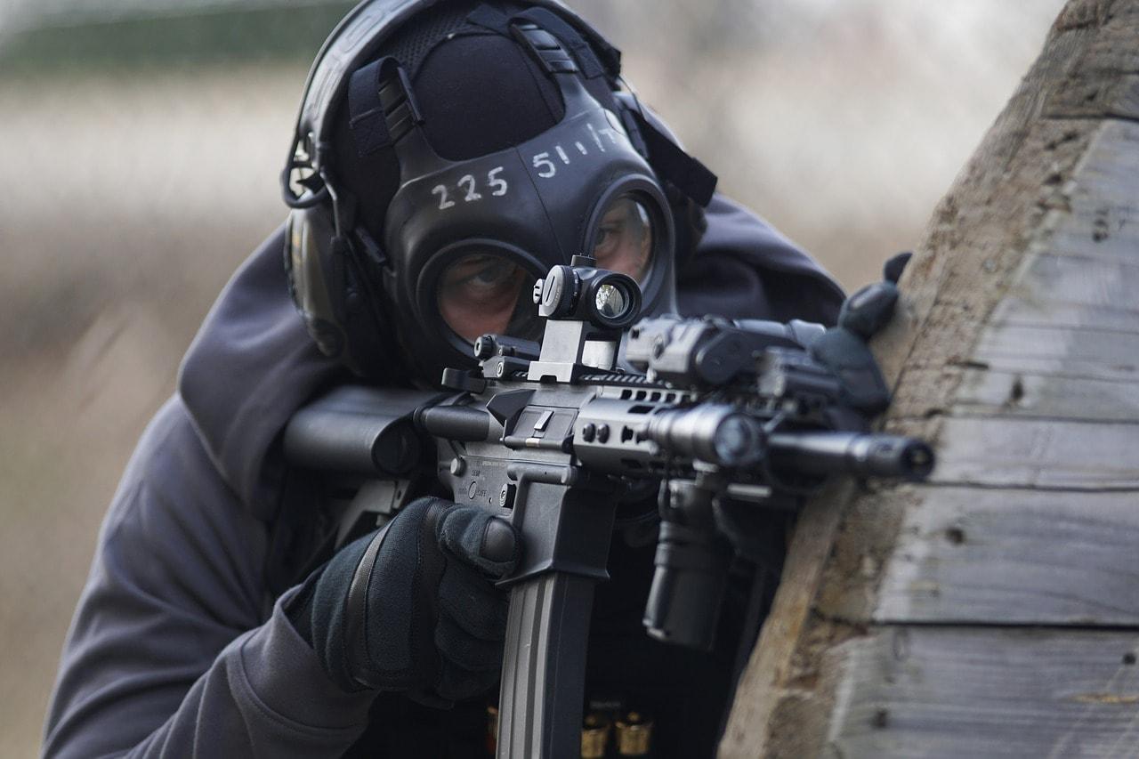 AR-15-rifle