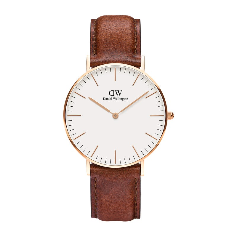 Daniel Wellington 1 - Aspiring Gentleman's Guide to Fall Fashion