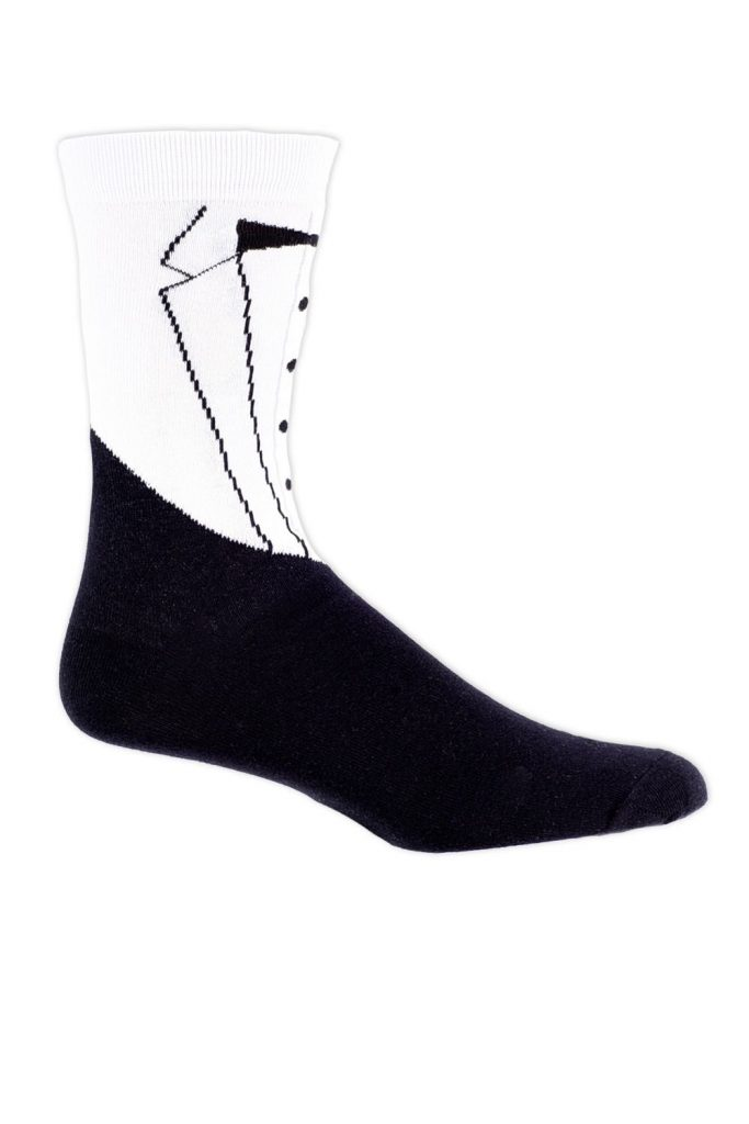 Tipsy Elves Tuxedo Socks 683x1024 - Aspiring Gentleman's Guide to Fall Fashion