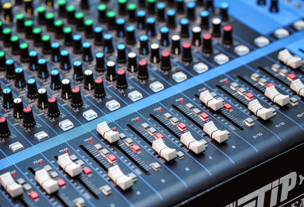 sound mixer 1024x699 - What can I do with a music production degree?