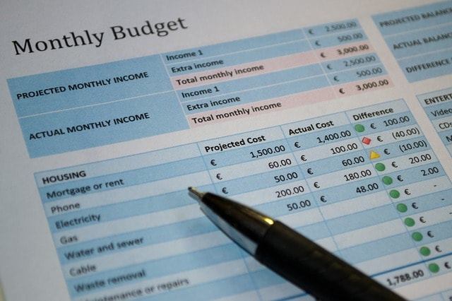 Monthly Budget - How You Can Change Your Financial Situation