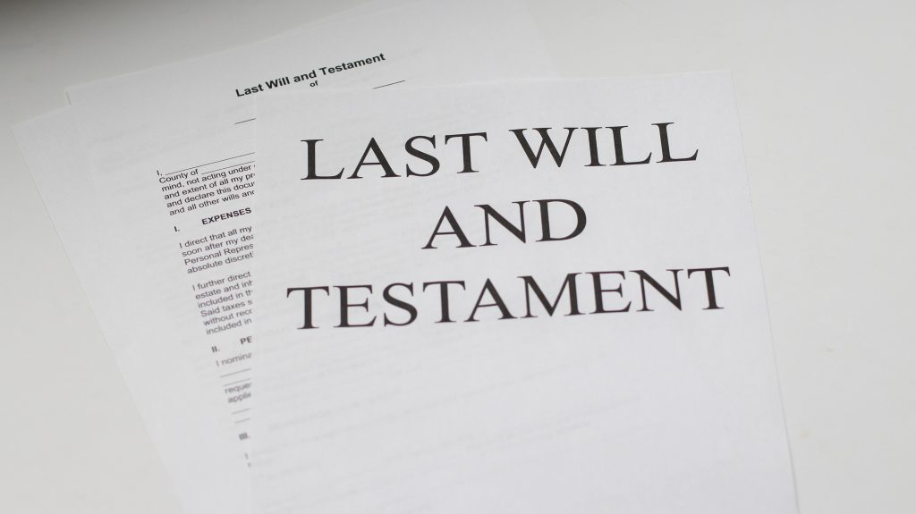 last will and testament 1024x575 - What to do when the Wills Executor Steals?