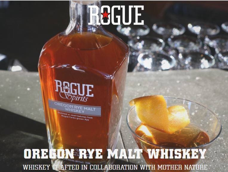 Oregon Rye Malt Whiskey - Rogue Spirits Whiskey Review