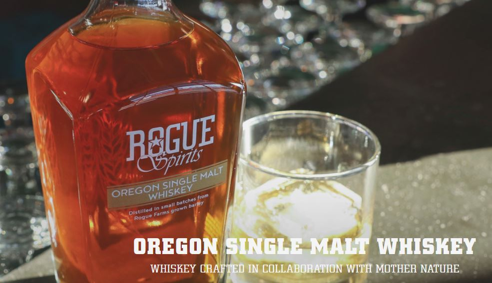 Oregon Single Malt Whiskey - Rogue Spirits Whiskey Review