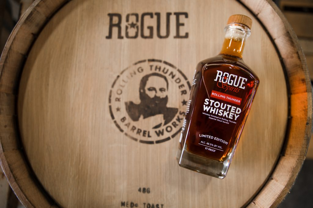 Rolling Thunder Stout Whiskey 1024x683 - Rogue Spirits Whiskey Review