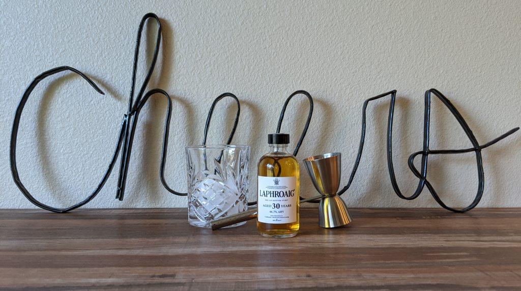Laphroaig Ian Hunter 30 year 1024x573 - Whiskey Review of Irish and Scottish Whiskey