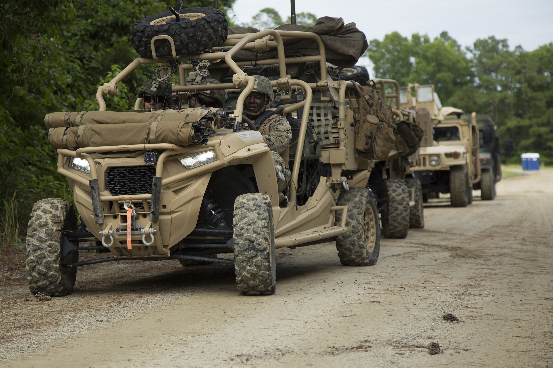 Military Side-By-Side Utility-Tactical-Vehicle