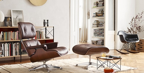 vitra Eames Lounge Chair - 5 iconic designer lounge chairs