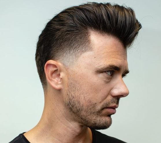 Hairstyle For Men - Hot Taper Fade Haircut For A Trendy New Look