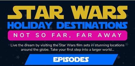 Star Wars travel destination