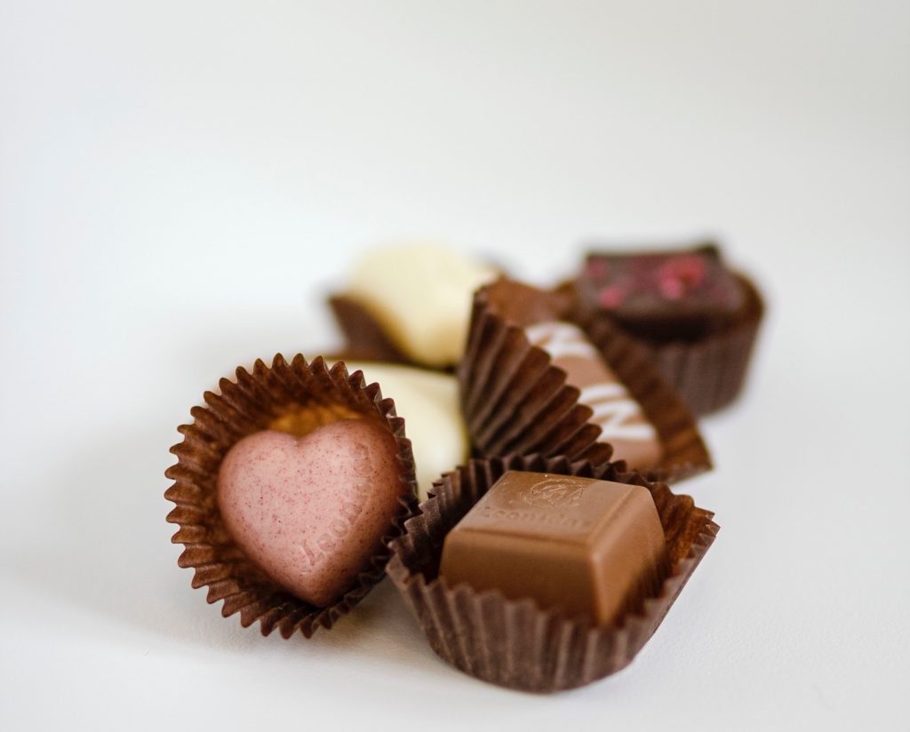 Valentine's Day Chocolate 1024x824 - The Gentlemen's Guide to Surviving Your First Valentine's Day