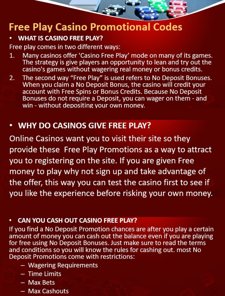 Infographic Free Play Casino Promotional Codes 781x1024 - Free Play Casino Promotional Codes