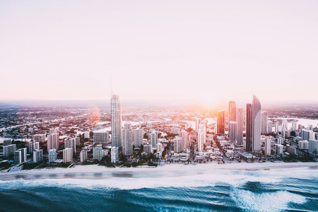Surfers Paradise Skyline at sunset Gold Coast 1024x683 - The Best of the Gold Coast - 6 Top Things to Do
