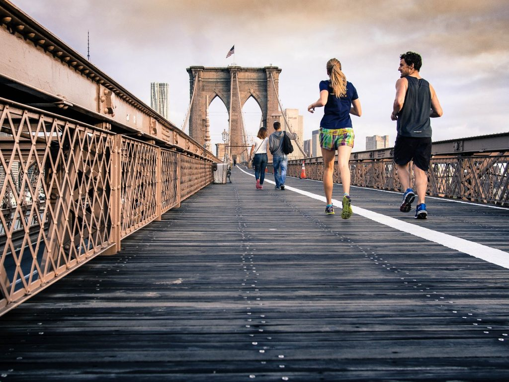 running to de stress 1024x768 - What Are the Emotional Benefits of Fitness