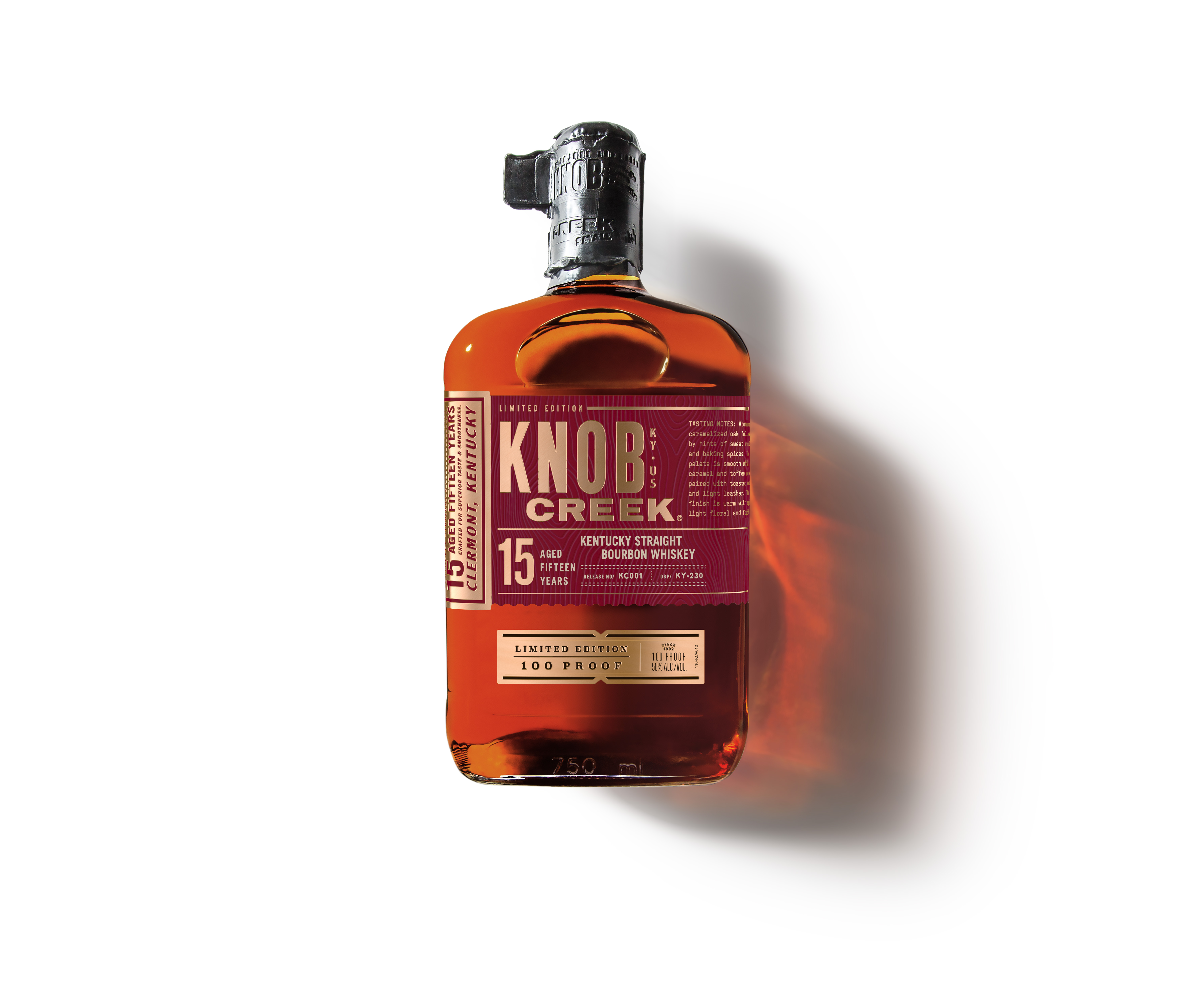 Knob Creek Releases 15 Year Old Bourbon
