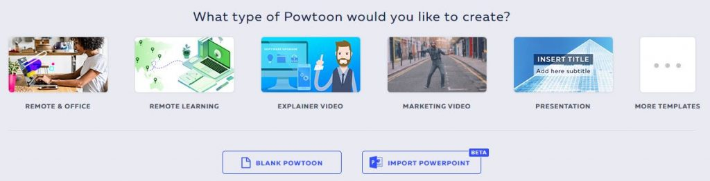 Powtoon 1024x262 - Learn to make animated videos with Powtoon