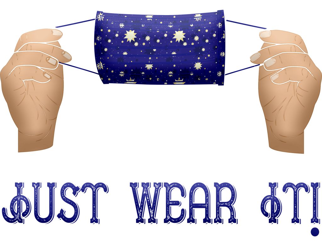 wear a mask 1024x780 - 5 Tips for Taking Care of Yourself Amid COVID-19