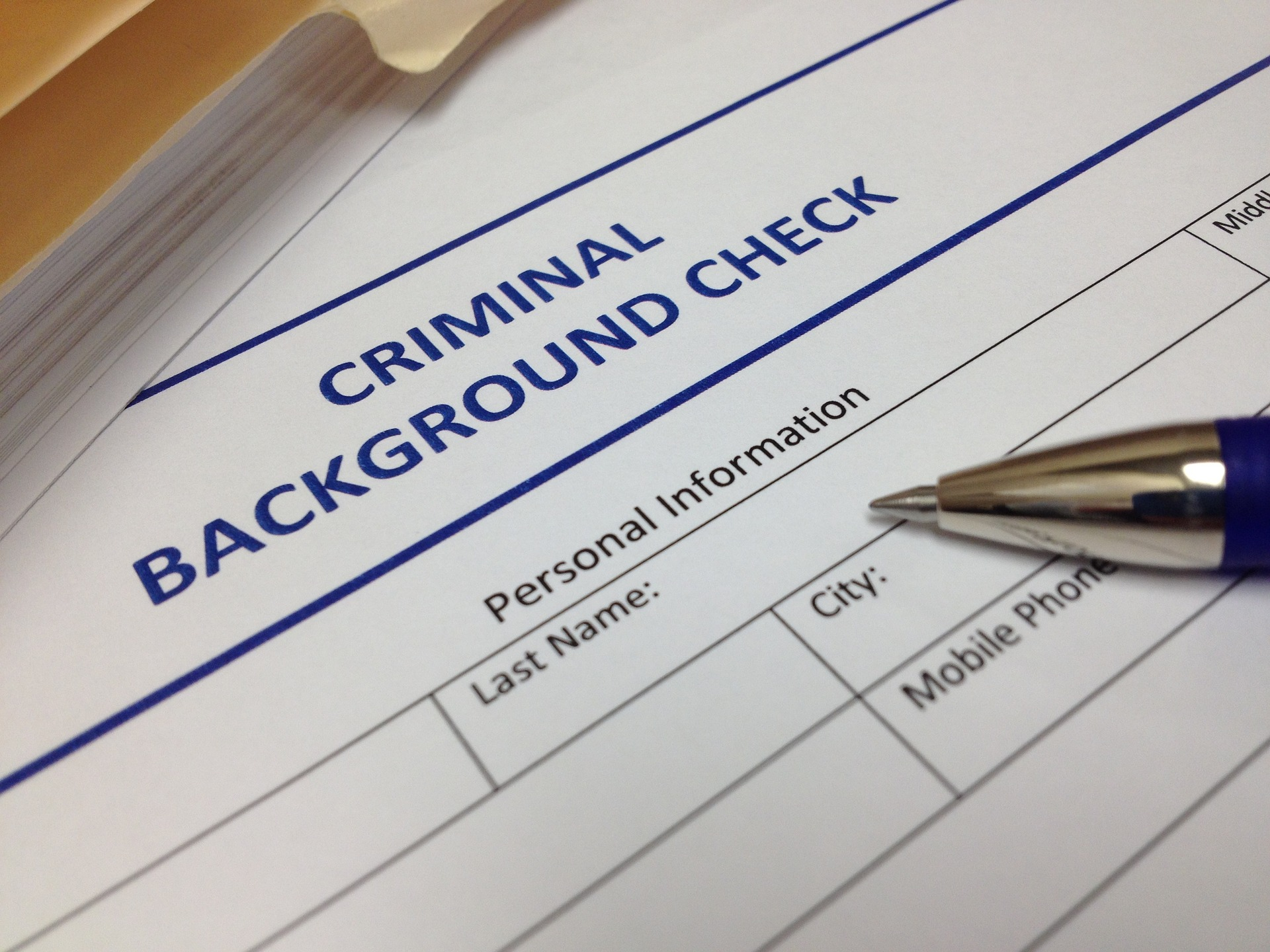 Job Background Checks