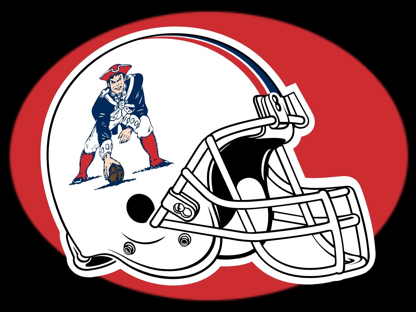 Clipart of New England Patriots Old Logo image in Vector cliparts category at pixy.org