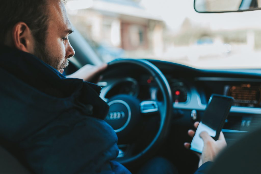 texting and driving 1024x683 - Smart Ways To Minimize Your Chances Of Auto Accidents
