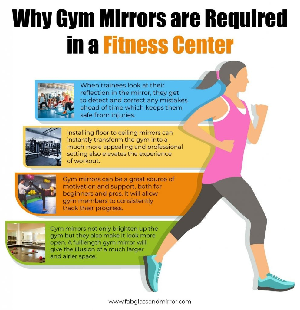 Gym Mirror 991x1024 - Importance of Gym Mirror in Fitness Centers for Better Functionality