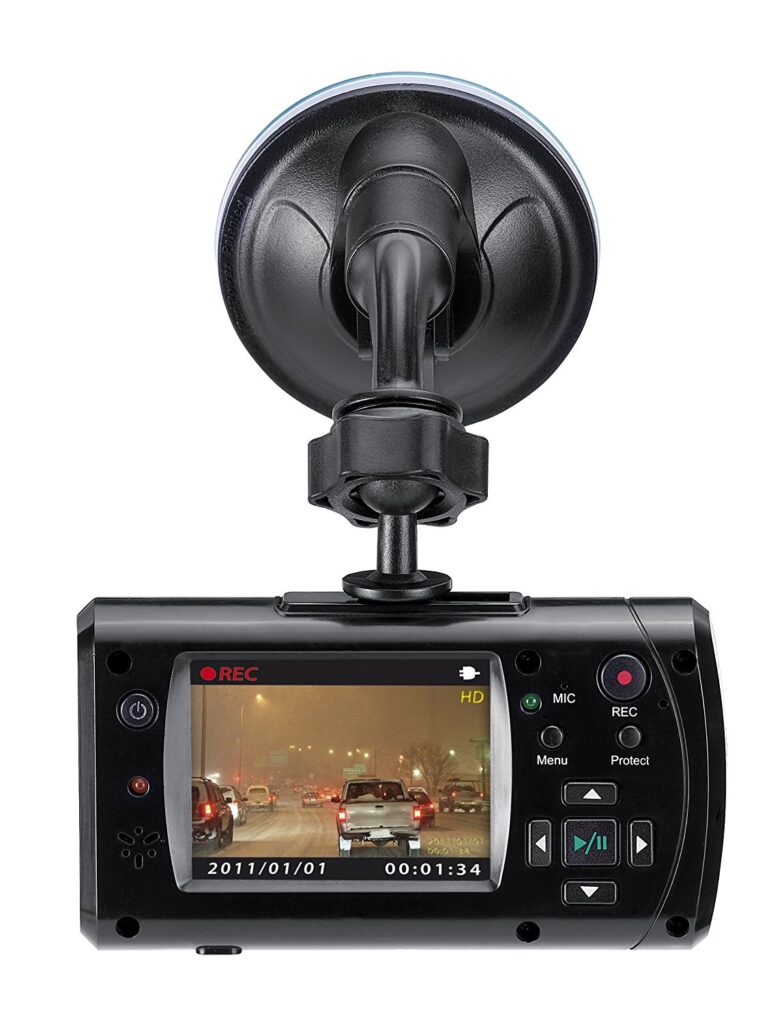 Genius DVR HD550 DashCam Vehicle Recorder with 105 Degree Angle HD Video Recording N4 771x1024 - 6 Cons of Using Dash Cams