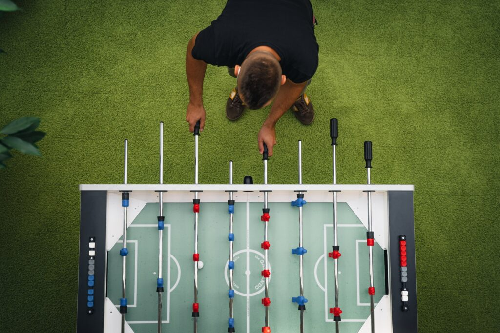 szabolcs toth FYt8CIOosOw unsplash 1024x683 - What Is The Best Foosball Table?