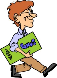 man with financial bonus 221x300 - Australian Casino Bonuses
