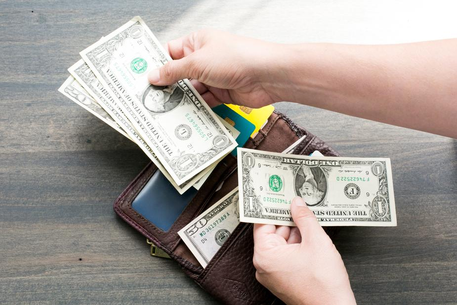 wallet and money - Money Management Tips for New Business Owners