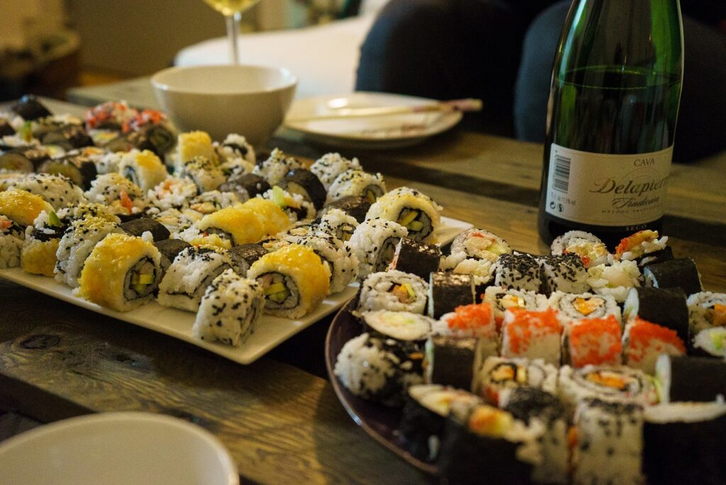 sushi 2679221 1280 1024x684 - The best wine to pair with 5 signature dishes