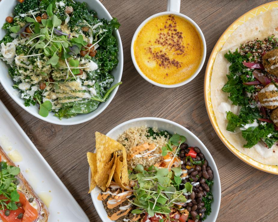 healthy dining salads wraps and bowls - The Best and Easiest Ways to Lose Weight