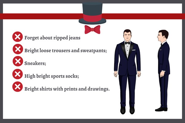 Avoid Mistakes - Fancy Casino Dress Code for Men: 40 Ideas on How to Dress at a Casino