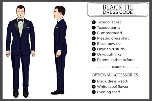 Black Tie Dress Code - Fancy Casino Dress Code for Men: 40 Ideas on How to Dress at a Casino