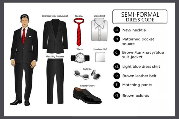 Semi Formal Dress Code - Fancy Casino Dress Code for Men: 40 Ideas on How to Dress at a Casino