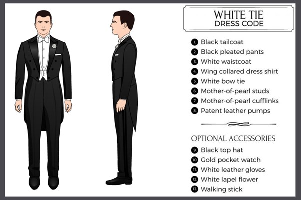 White tie dress code - Fancy Casino Dress Code for Men: 40 Ideas on How to Dress at a Casino