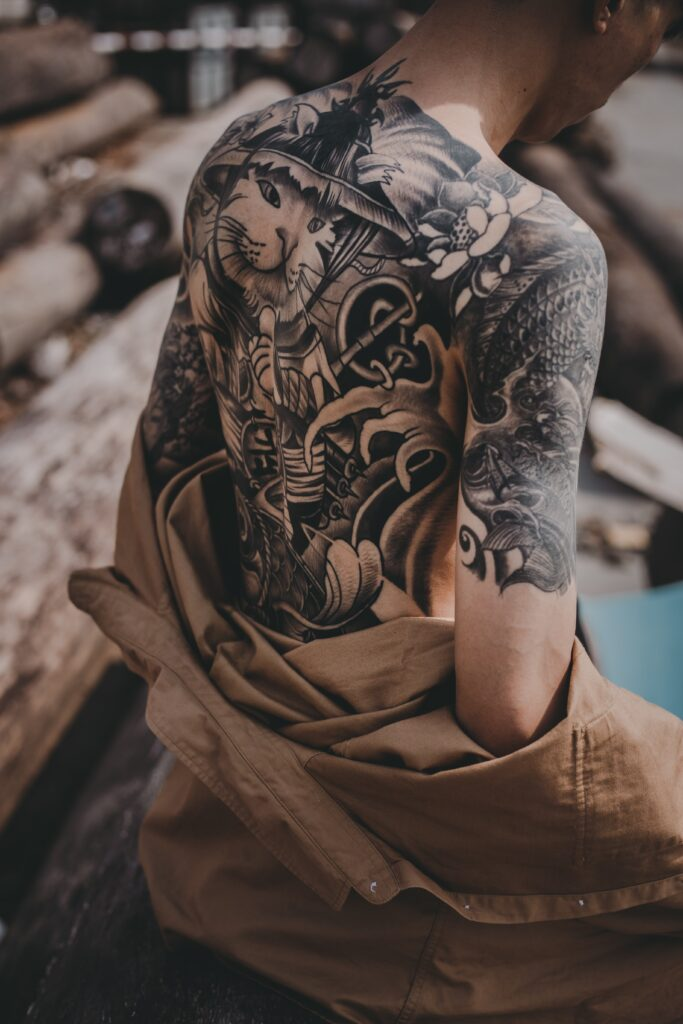 hung pham DWHzxQd uOY unsplash 683x1024 - 6 Things to Know About the Black and Grey Tattoo Style