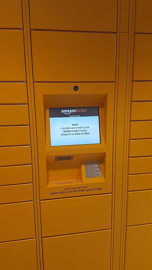 Amazon Locker Faust touch screen - The Best Package Locker for Residential Buildings